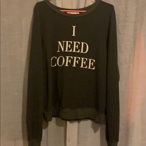 WILDFOX Coffee Pullover